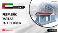 BAE, Prefabrik yapılar konusunda işbirliği yapmak istiyor