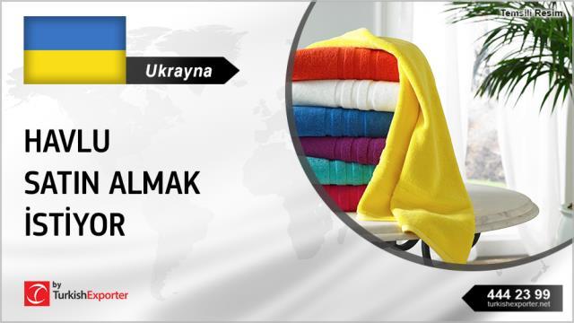 Ukrayna, Havlu satın almak istiyor