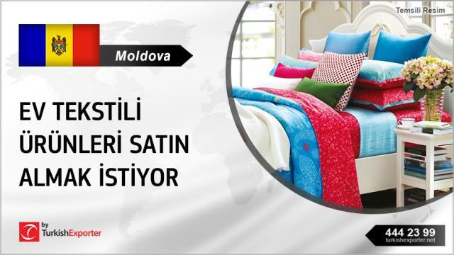 Moldova, Ev tekstili ürünleri alım talebi