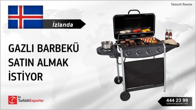 İzlanda, Gazlı barbekü satın almak istiyor