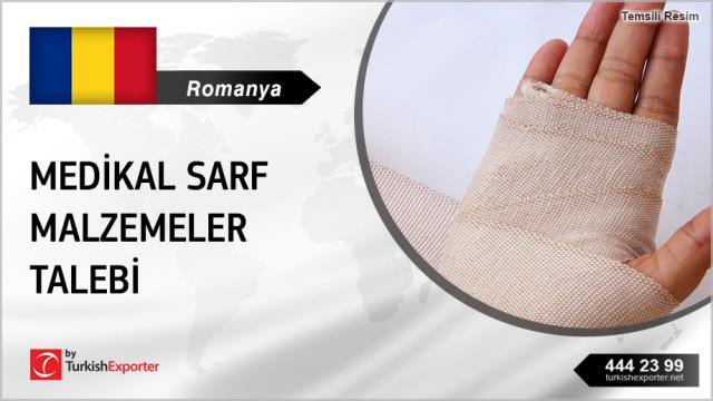 Romanya, Medikal sarf malzemeler talebi