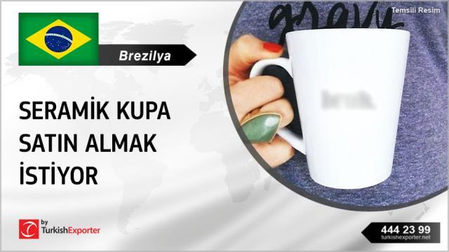 Brezilya, Seramik kupa satın almak istiyor