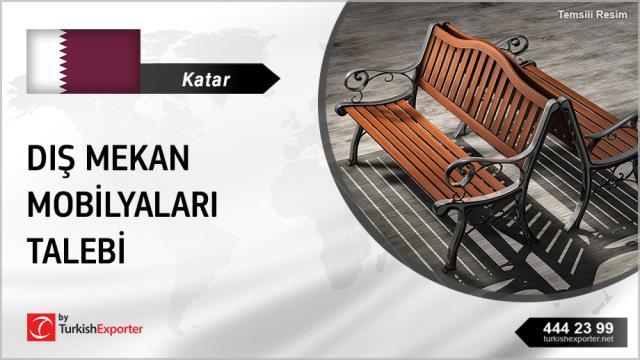 Katar, Dış mekan mobilya çeşitleri talebi