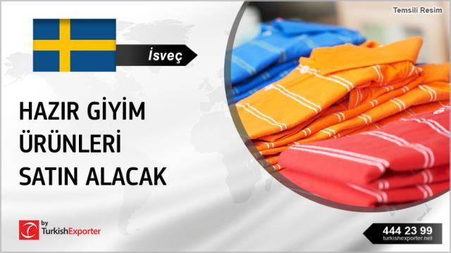 İsveç, Hazır giyim ürünleri satın alacak
