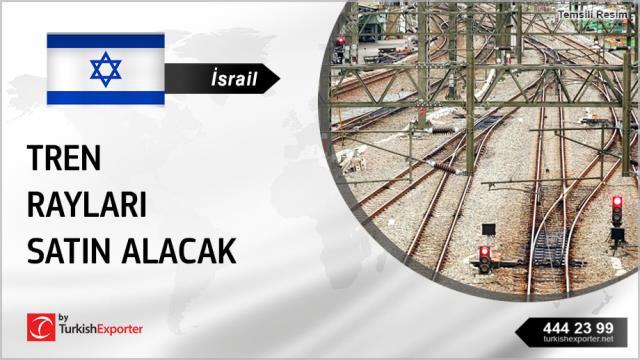 İsrail, Tren rayları satın alacak