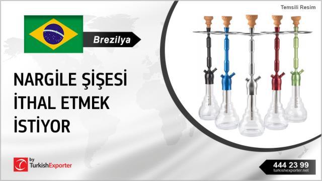 Brezilya, Nargile şişesi ithal edecek