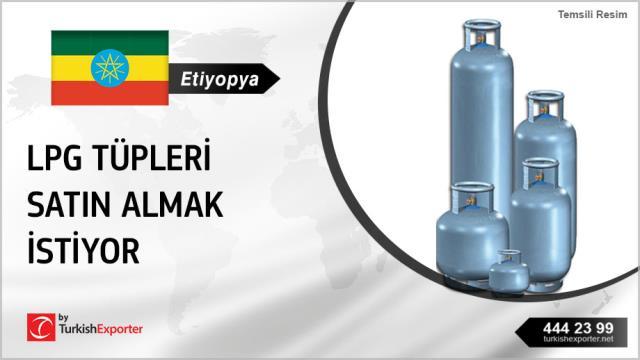 Etiyopyalı, LPG tüpleri satın almak istiyor