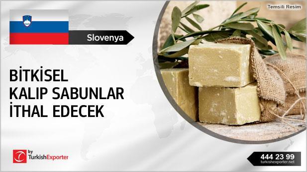 Slovenya, Bitkisel kalıp sabunlar ithal edecek