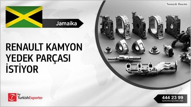 Jamaika, Renault kamyon yedekleri istiyor