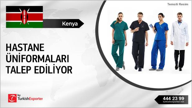 Kenya, Hastane üniformaları talep ediliyor