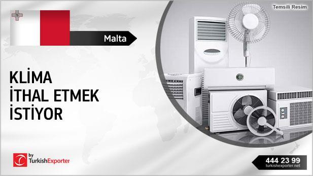 Malta, Klima ithal etmek istiyor