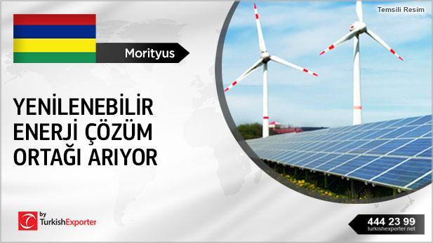 Morityus, Yenilenebilir enerji çözüm ortağı arıyor
