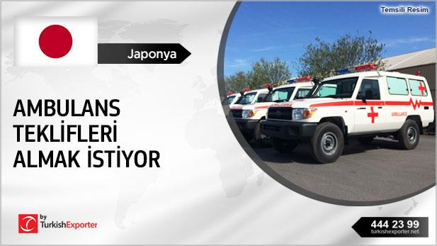 Ambulances 4WD and 2WD offer Requested by Japanese Company