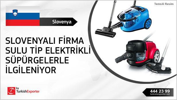Slovenyalı firma sulu tip elektrikli süpürgelerle ilgileniyor